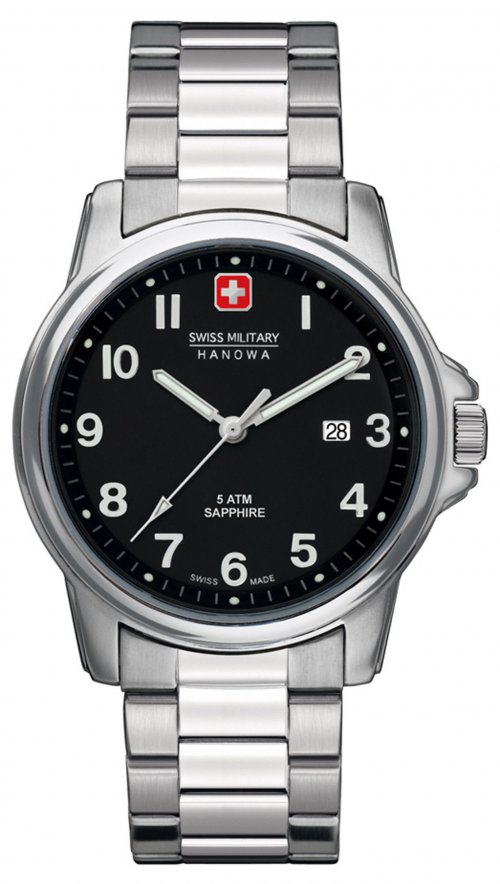 Ρολόι Swiss Military Swiss Soldier Prime μπρασελέ 06-5231.04.007