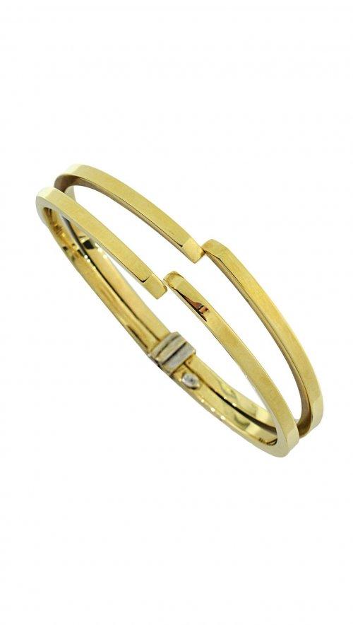 Βραχιόλι χειροπέδα χρυσό 14 καράτια  6d8a1f5a931