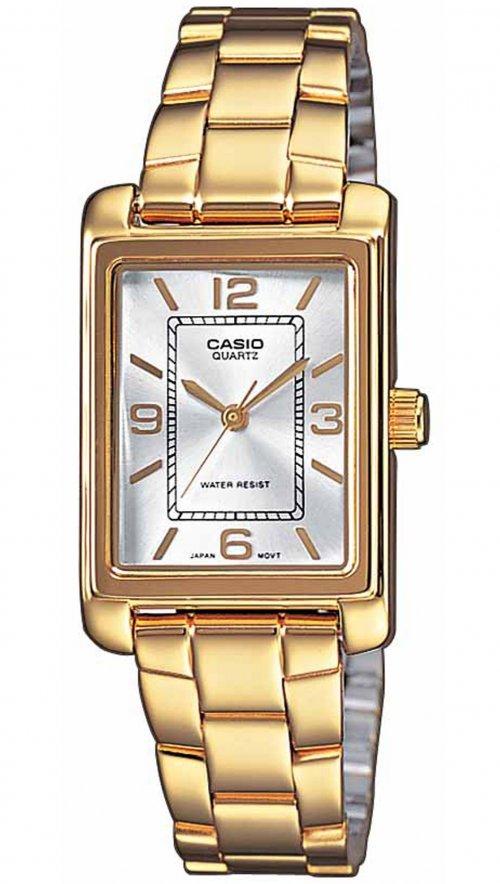 Γυναικείο ρολόι Casio Collection με χρυσό μπρασελέ LTP-1234PG-7AEF ... 898aeeb1daa