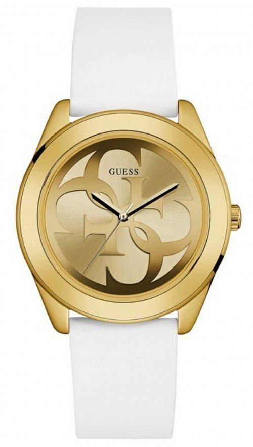 Ρολόι Guess με λευκό λουράκι W0911L7  781d97fe237