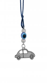 Watchmarket.gr Car pendant with eye and car