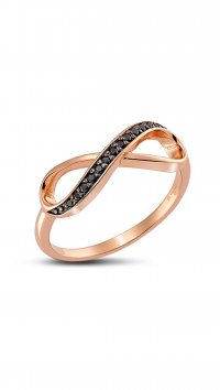 Vogue Vogue rose gold silver 925 ring 095210.2