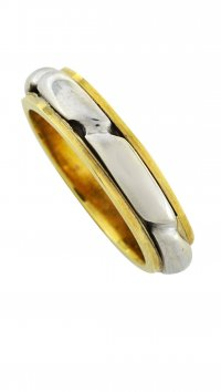 Watchmarket.gr Gold and whitegold 14 carat ring