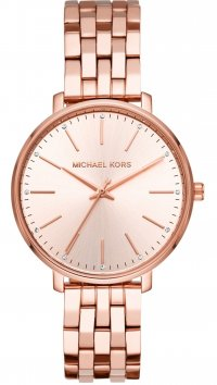 Michael Kors Michael Kors Mini Pyper rose gold steel watch MK3897