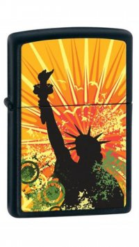 Zippo Zippo lighter with Statue of Liberty 24822