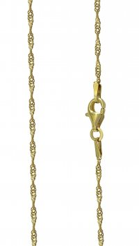 Watchmarket.gr Gold silver 925 chain 45cm