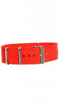 Watchmarket.gr Fabric red strap