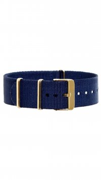 Watchmarket.gr Fabric blue strap