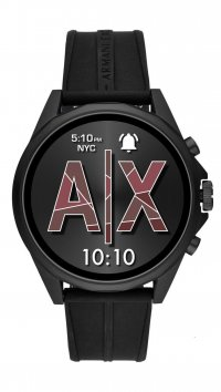 Armani Exchange Ρολόι Armani Exchange Smartwatch Drexler με μαύρο λουράκι AXT2007