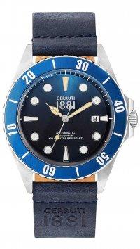 new -10% Cerruti Cerruti Manarola Automatic date blue watch CRA164STBL03BL a416474ff2d