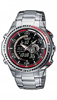 Casio Casio Edifice chronograph steel watch EFA-121D-1AVEF