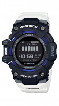 Casio G-Shock Ρολόι Casio G-Shock Smartwatch Bluetooth με λευκό λουράκι GBD-100-1A7ER