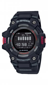 Casio G-Shock Ρολόι Casio G-Shock Smartwatch Bluetooth με μαύρο λουράκι GBD-100-1ER