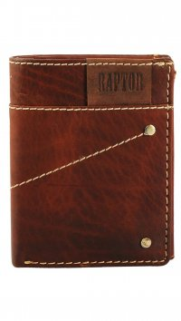 Raptor Raptor brown leather wallet 495613957016