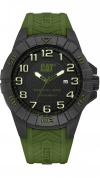 Caterpillar Caterpillar Karbon date green watch K212123113