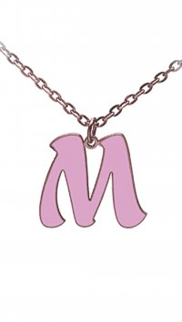 Personal Jewel Silver 925 necklace with monograme