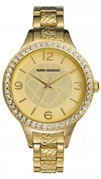 new -10% Mark Maddox Ρολόι Mark Maddox με χρυσό μπρασελέ MF6001-25 1e0969cdbf8