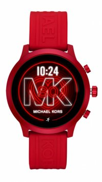 Michael Kors Ρολόι Michael Kors Access MKGO smartwatch με κόκκινο λουράκι MKT5073