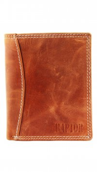 Raptor Raptor brown leather wallet 495511957501