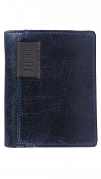 Raptor Raptor blue leather wallet 495613953001