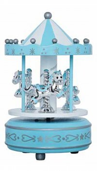 Watchmarket.gr Silver 925 carousel for baby boy