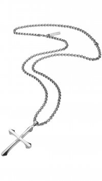 Police Police Saint steel necklace PJ24048PSS-01