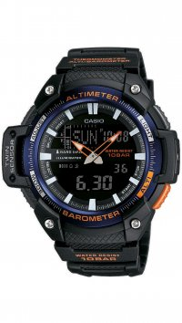 Casio Casio Collection black watch SGW-450H-2BER