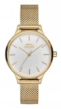 Slazenger Slazenger Sugar Free gold steel ladies watch SL.9.6125.3.01