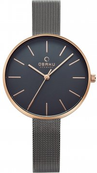 Obaku OBAKU grey steel watch V211LXVJMJ