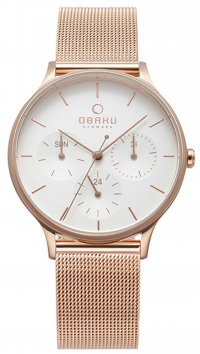 Obaku OBAKU Lind multifunction steel watch V212LMVIMV