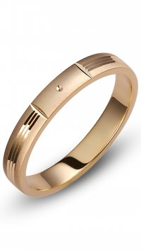 Watchmarket.gr Gold wedding rings 3.5mm