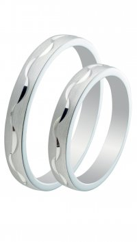 Watchmarket.gr Silver 925 wedding rings 3mm