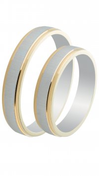 Watchmarket.gr Silver 925 wedding rings 4mm