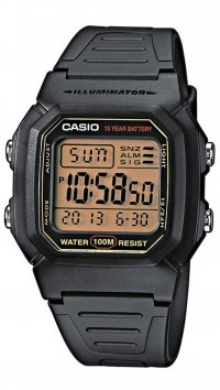 Casio Casio Collection digial black watch W-800HG-9AVES